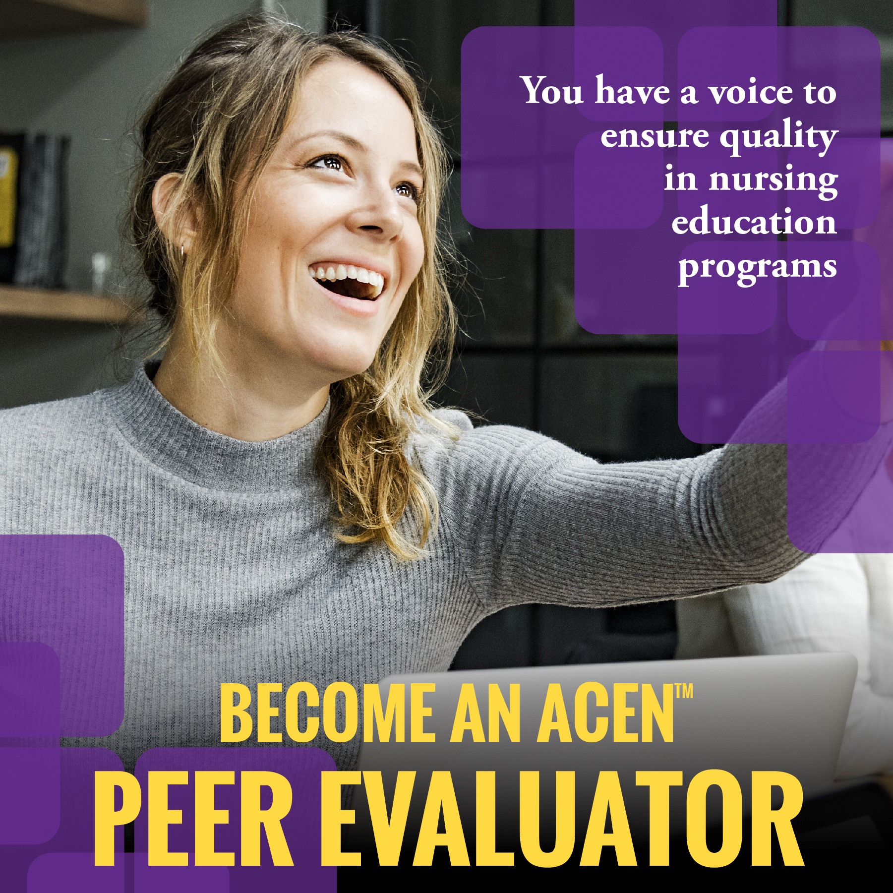 You have a voice: Become an ACEN Peer Evaluator