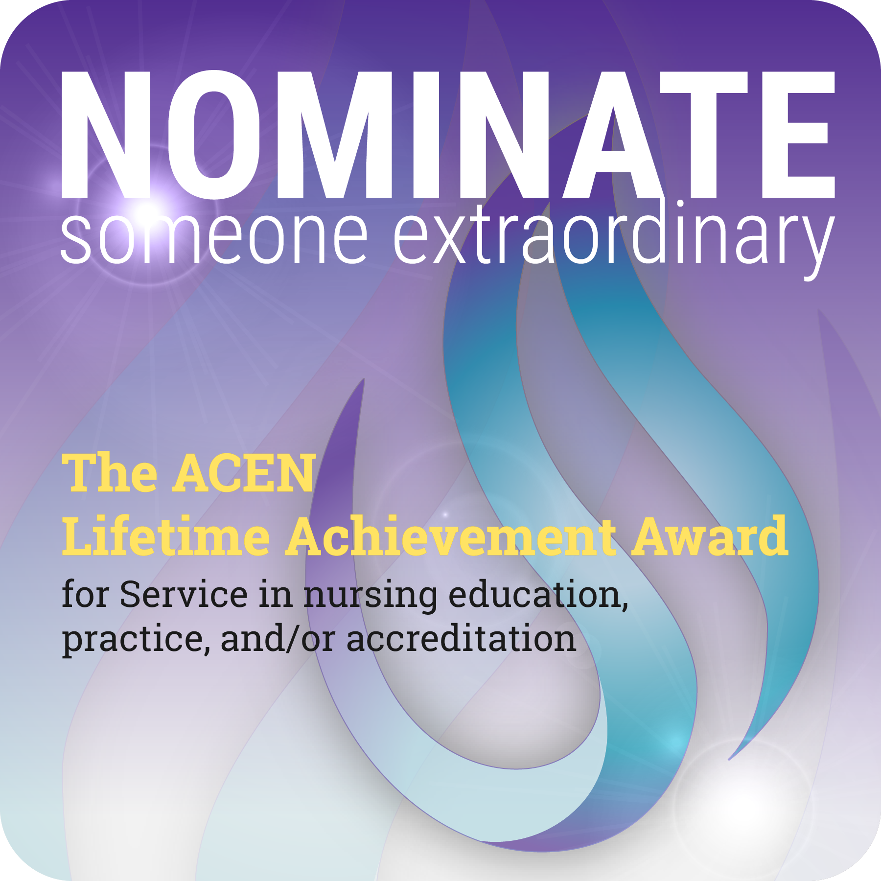 Nominate someone for the ACEN Lifetime Achievement Award