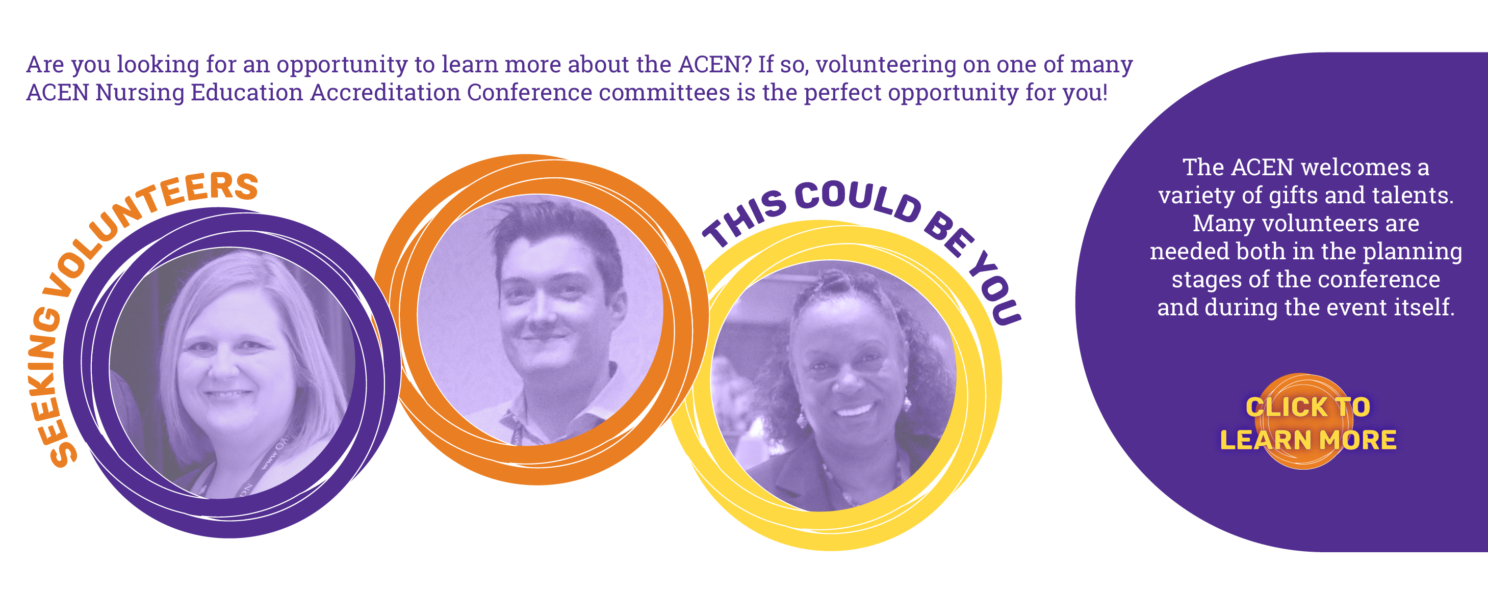 Seeking Volunteers for the ACEN Annual Conference
